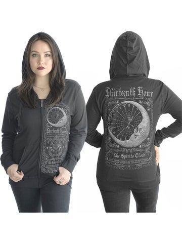 Image of SERPENTINE CLOTHING Thirteenth Hour Women's Hoodie