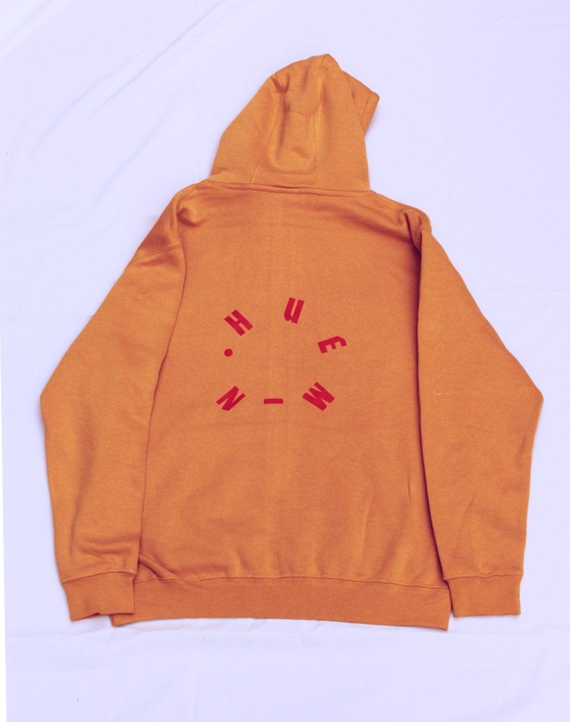 Image of NO . BODY . IS . ILLEGAL . V GOLD BODY POLITIC HOODIE [ GEN 2 ]