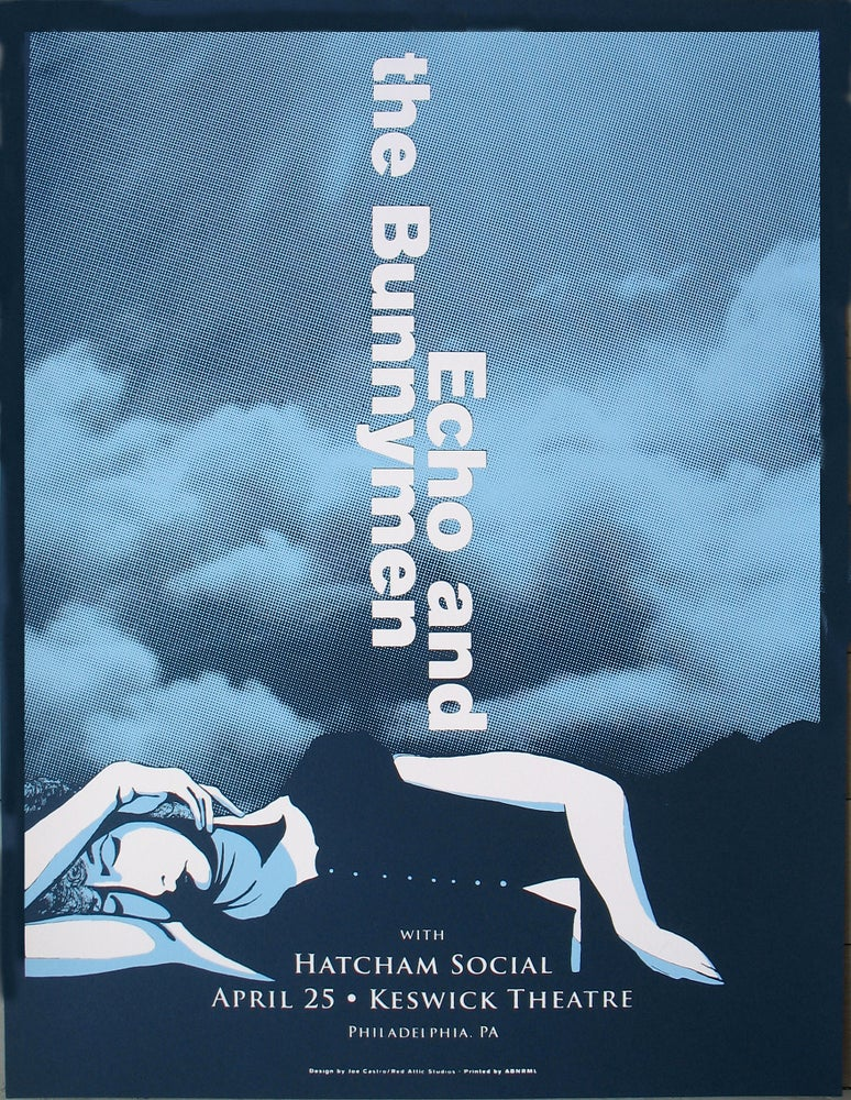 Image of Echo and the Bunnymen gigposter