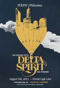 Image of Delta Spirit / gigposter