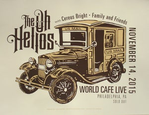 Image of The Oh Hellos / gigposter