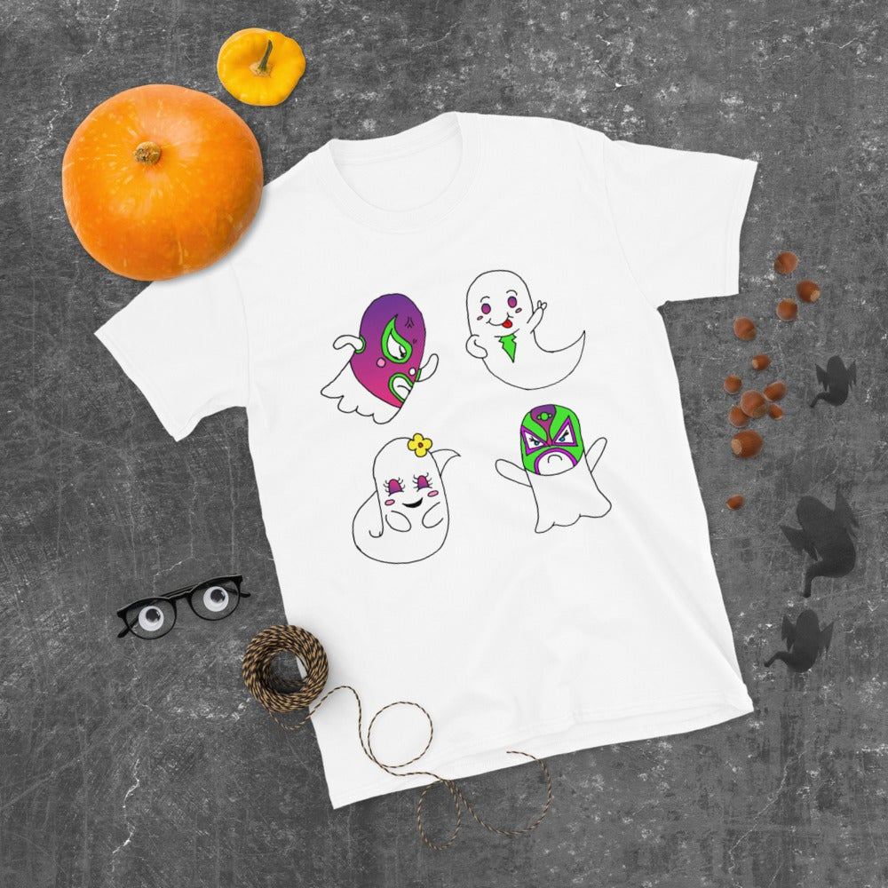 Short-Sleeve Lucha Ghost Shirt