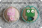 Image of wearable sentimental robots