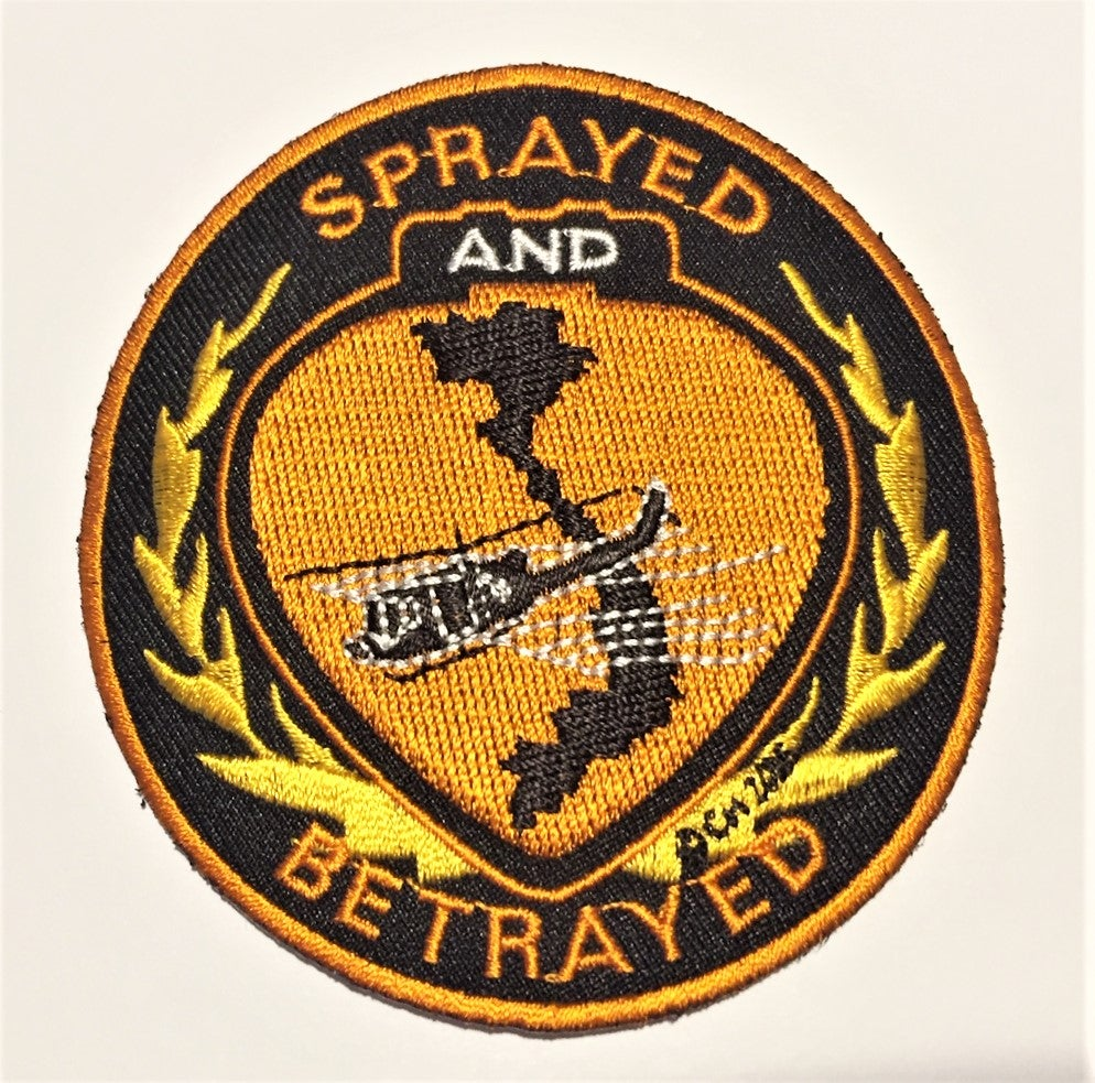 Image of Agent Orange Sprayed and Betrayed Patch
