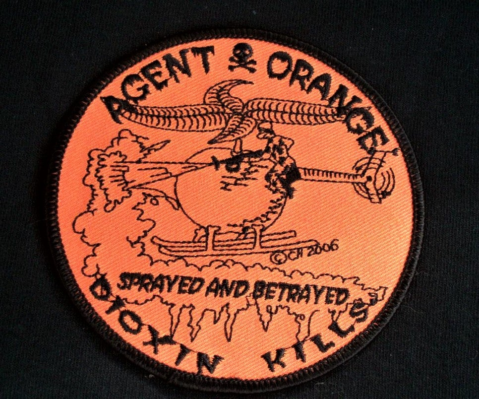 Image of Vietnam Veteran Agent Orange Dioxin Kills Patch