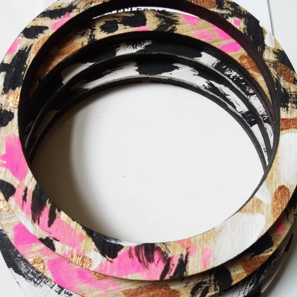 Vybe Bangles-Pop of Pink