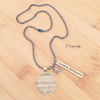 "Collana ""Always Believe"""