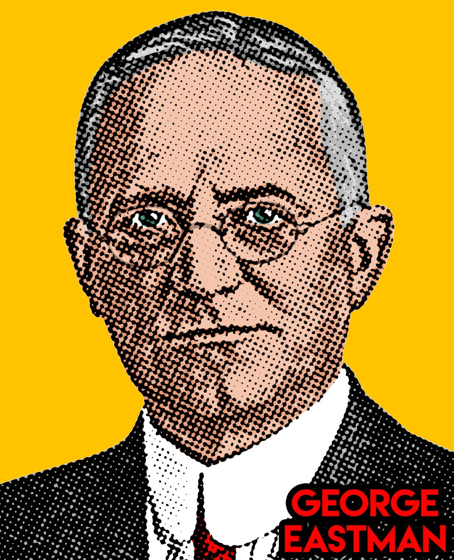 Image of George Eastman Sticker