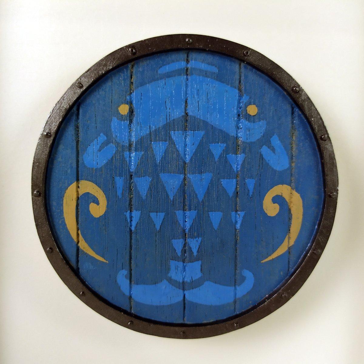 Image of Shields Zelda Breath Of The Wild - Fisherman's Shield