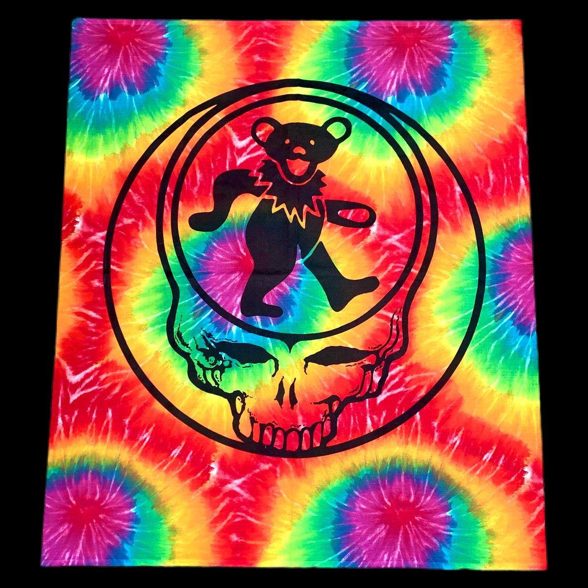 Original Vintage 90's Grateful Dead SYF Bear Tapestry!
