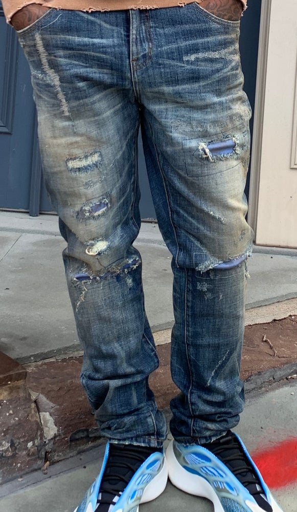 Image of Bleu Mechanic denim