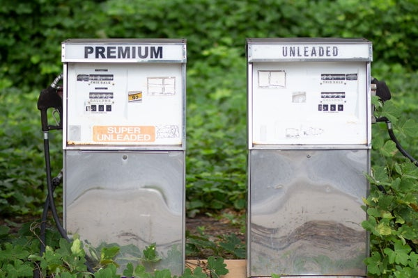 Image of Abandoned Gas Pumps 2