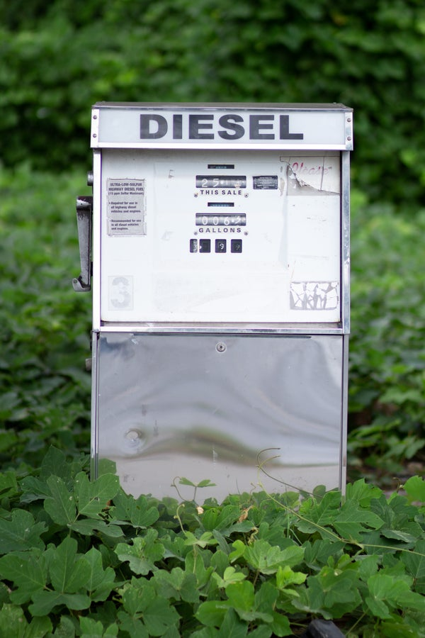 Image of Abandoned Gas Pumps 1