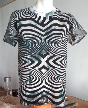 Image of BLUE WASH SWIRL T [SMALL, LARGE, XL]