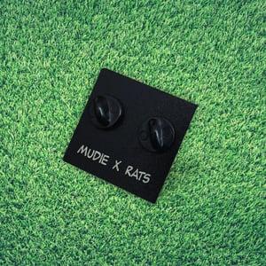 Image of 'Sad Chuck' Mudie X Rats Collab Soft Enamel Pin