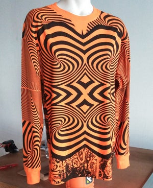 Image of ORANGE SWIRL LONGSLEEVE [MEDIUM]