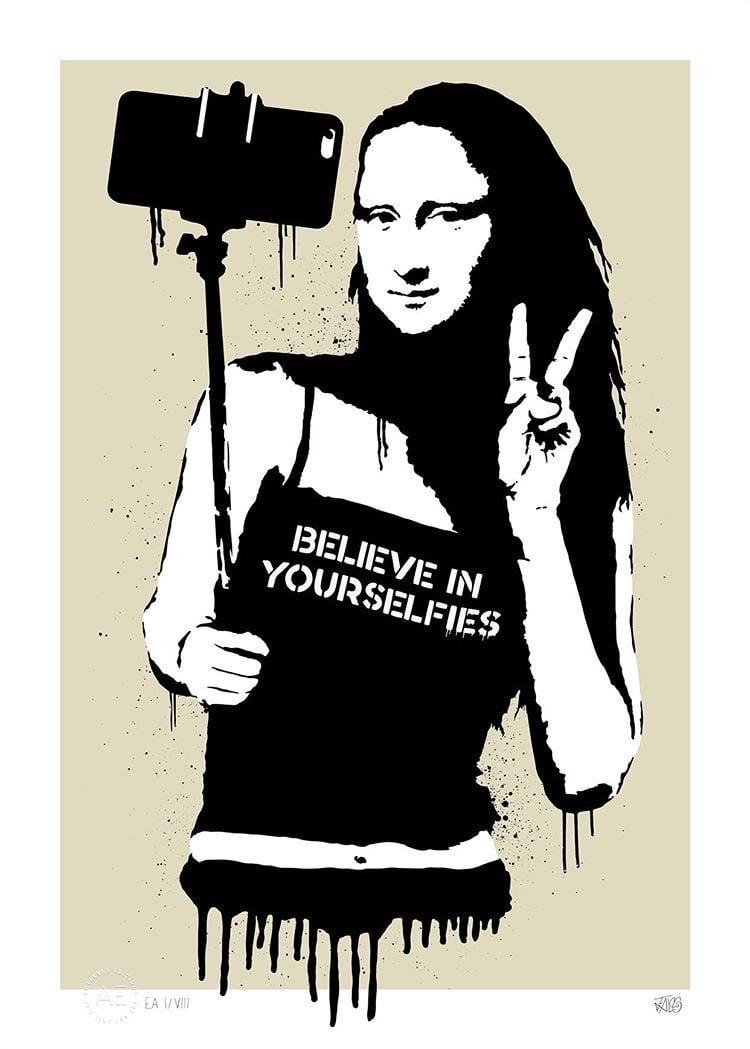 Image of BELIEVE IN YOURSELFIES (BEIGE)