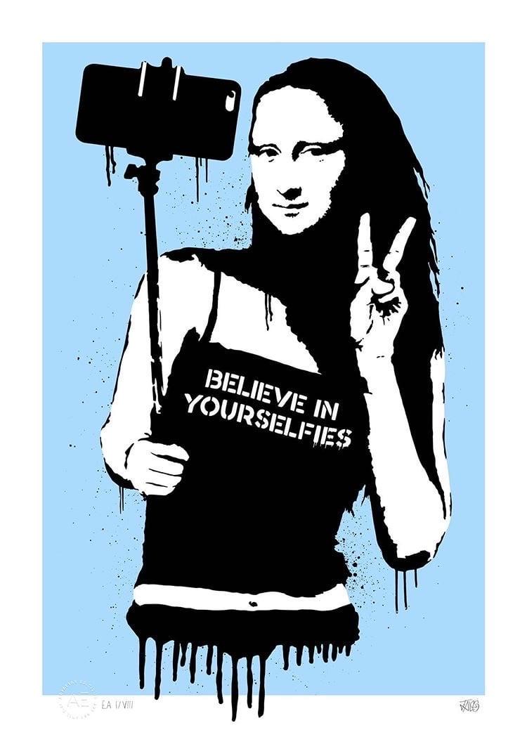 BELIEVE IN YOURSELFIES (BLUE)