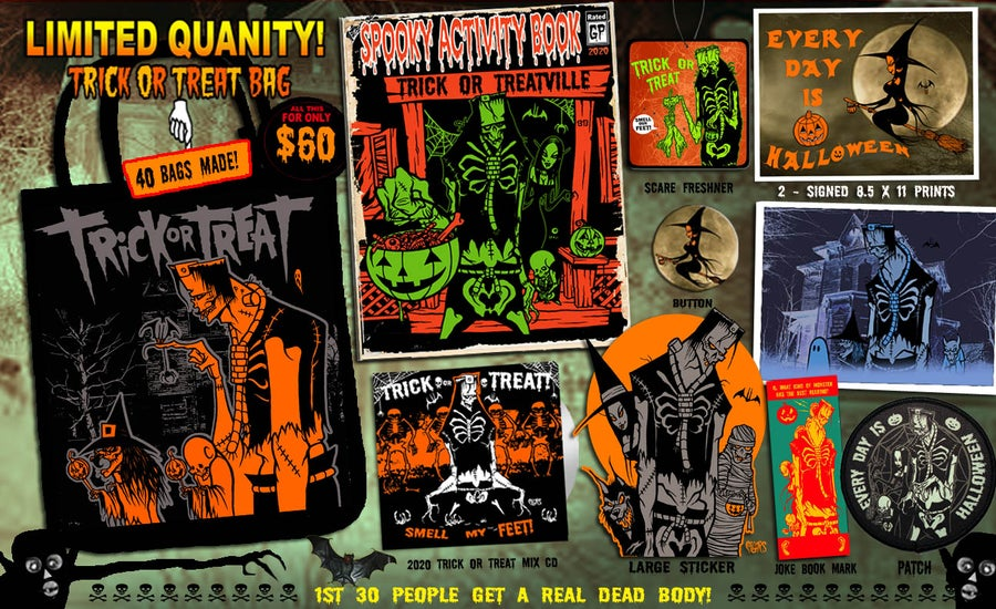 Image of 14th YEAR ANNUAL - TRICK OR TREAT BAG SPECIAL