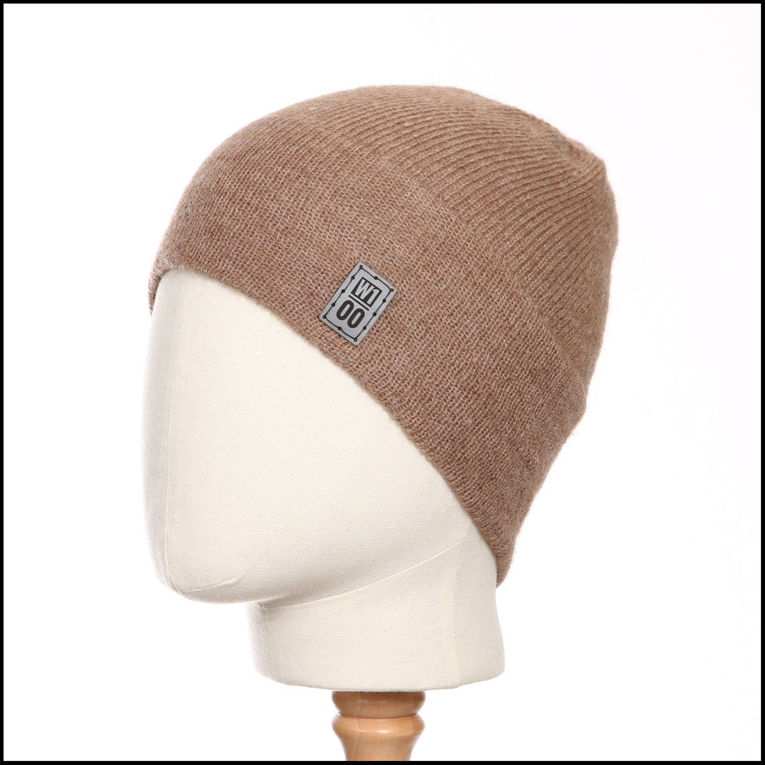 Image of Minimal Wide Band Toque (fawn alpaca) - 100 Mile Wardrobe Series