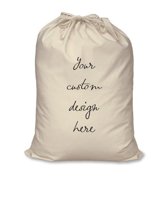 Image of Personalised Christmas Santa Sack - Custom Design