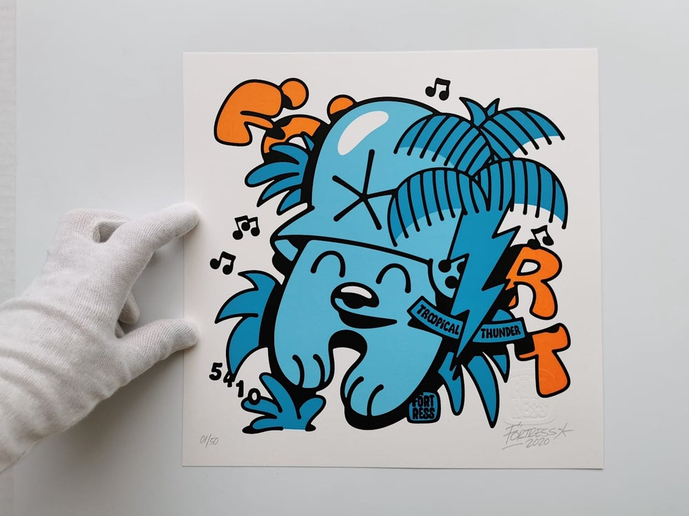 Image of Troopical Thunder / print