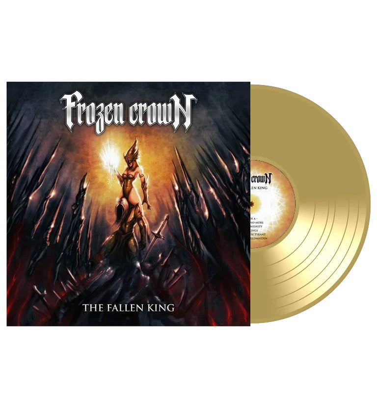 """Image of """"The Fallen King"""" GOLD VINYL (Limited)"""