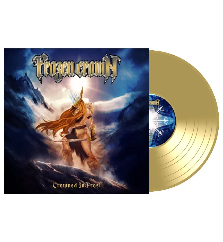 """Image of """"Crowned In Frost"""" GOLD Vinyl (Limited)"""