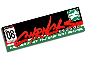 Image of The Chronicles CASTROL JTCC Tribute Decal