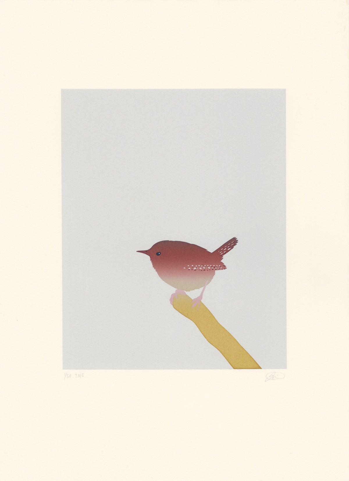 Image of Wren Screen Print