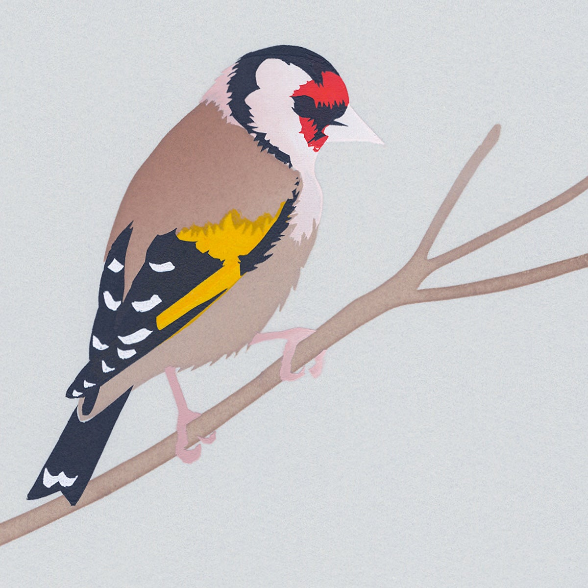 Image of Goldfinch Screen Print