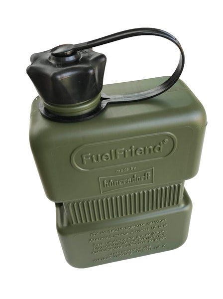 Image of Fuel Friend 1.0 litre fuel can - Green