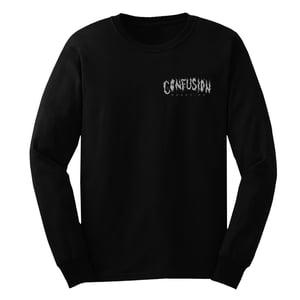 Image of Confusion - DIY CELEBRATiON - longsleeve tee [black]