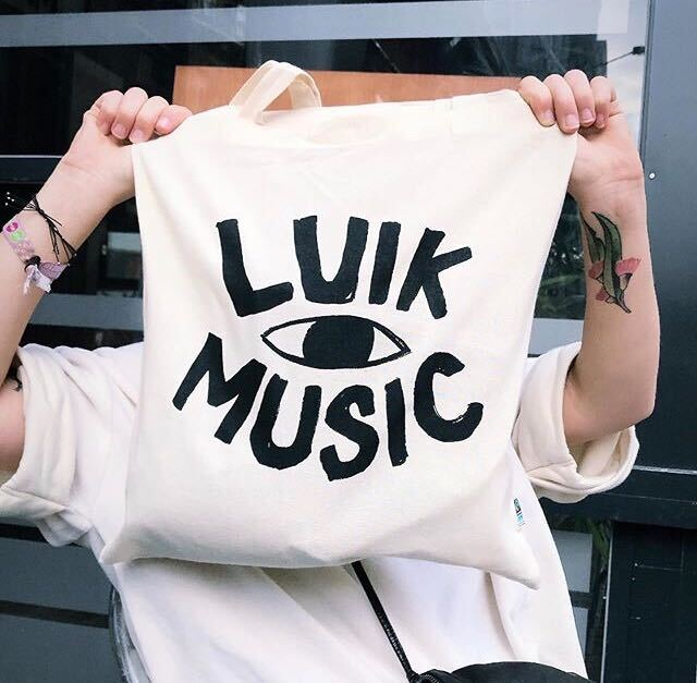 Image of Luik Music Tote Bag