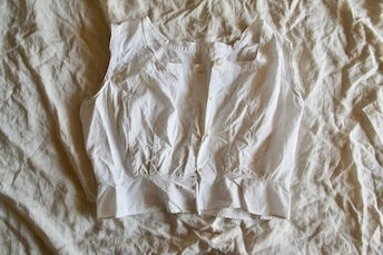 Image of French Cotton Camisole Ca 1900's