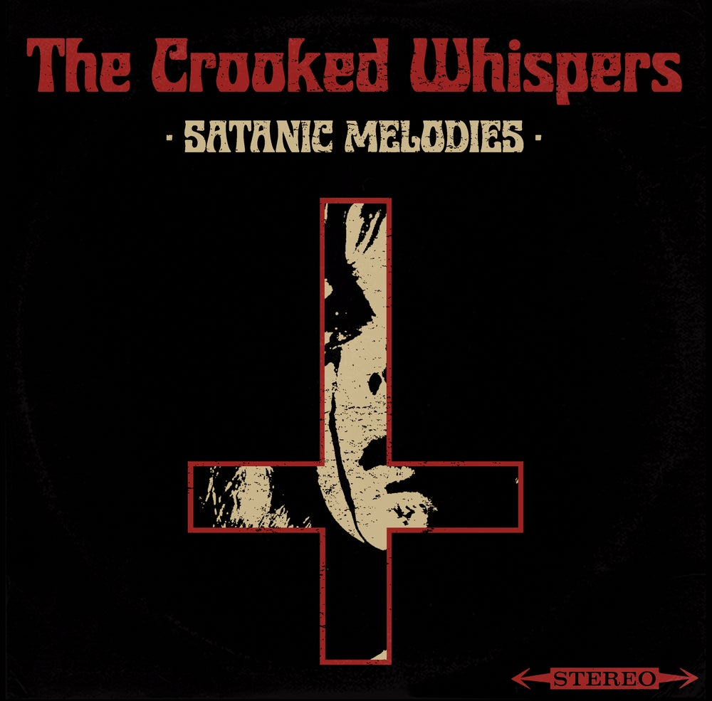 Image of The Crooked Whispers - Satanic Melodies Orange Vinyl