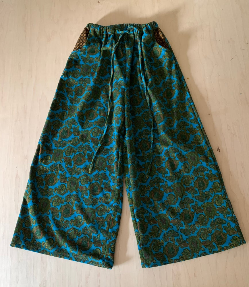 Image of Paisley Corduroy Zen Spinner Pants