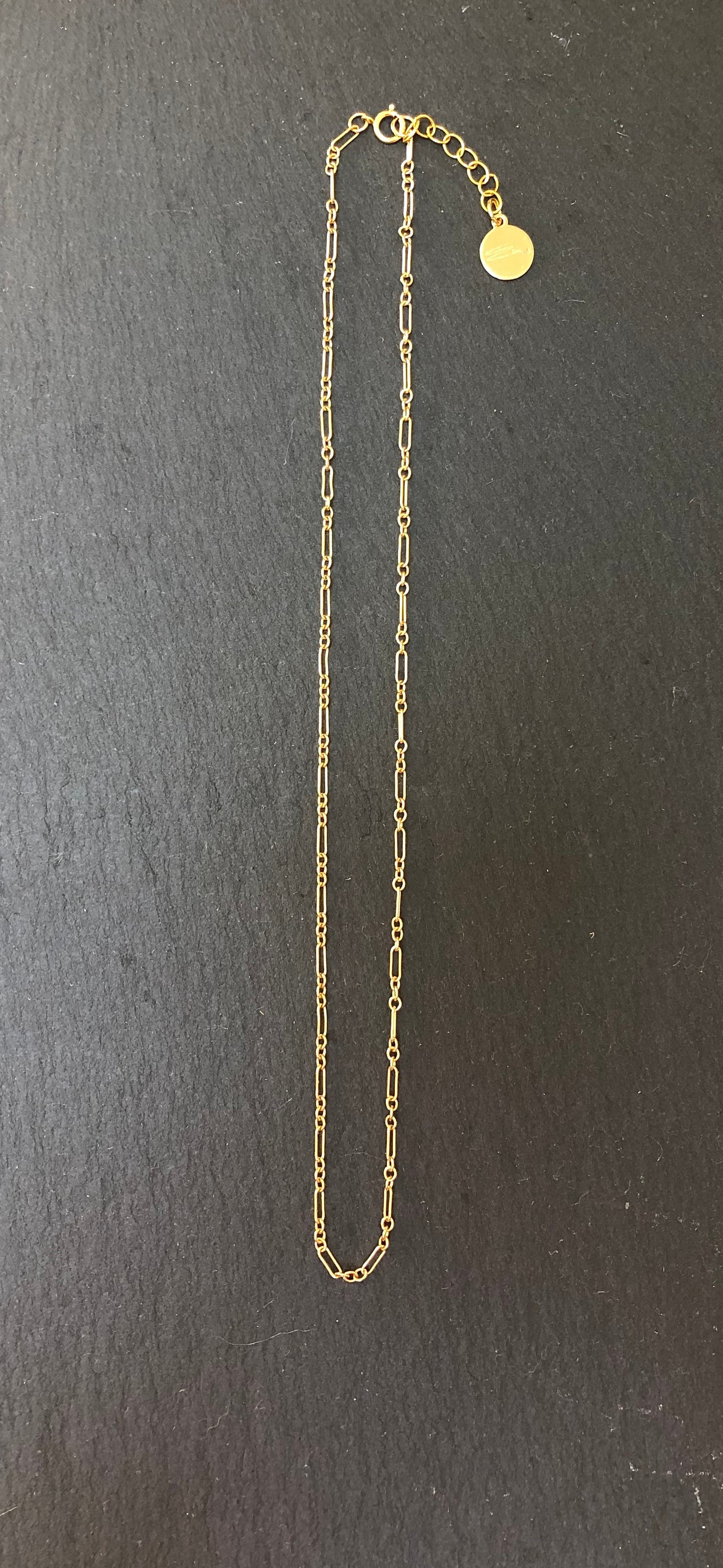 Image of Feminin Chain Gold Fill & Sterling Silver