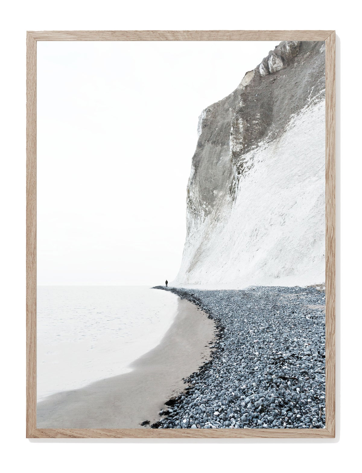 Image of Møns Klint Grey Print