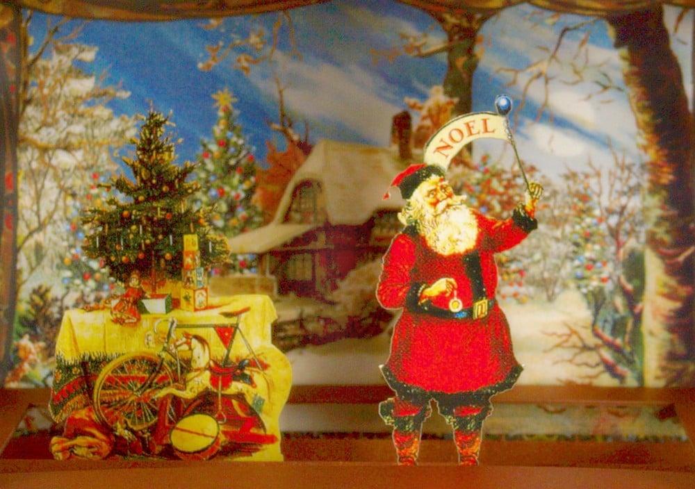 Image of Santa Pop-Up Theatre