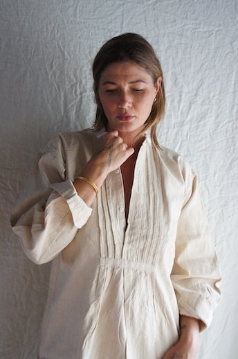 Image of French Hemp Workwear Smock