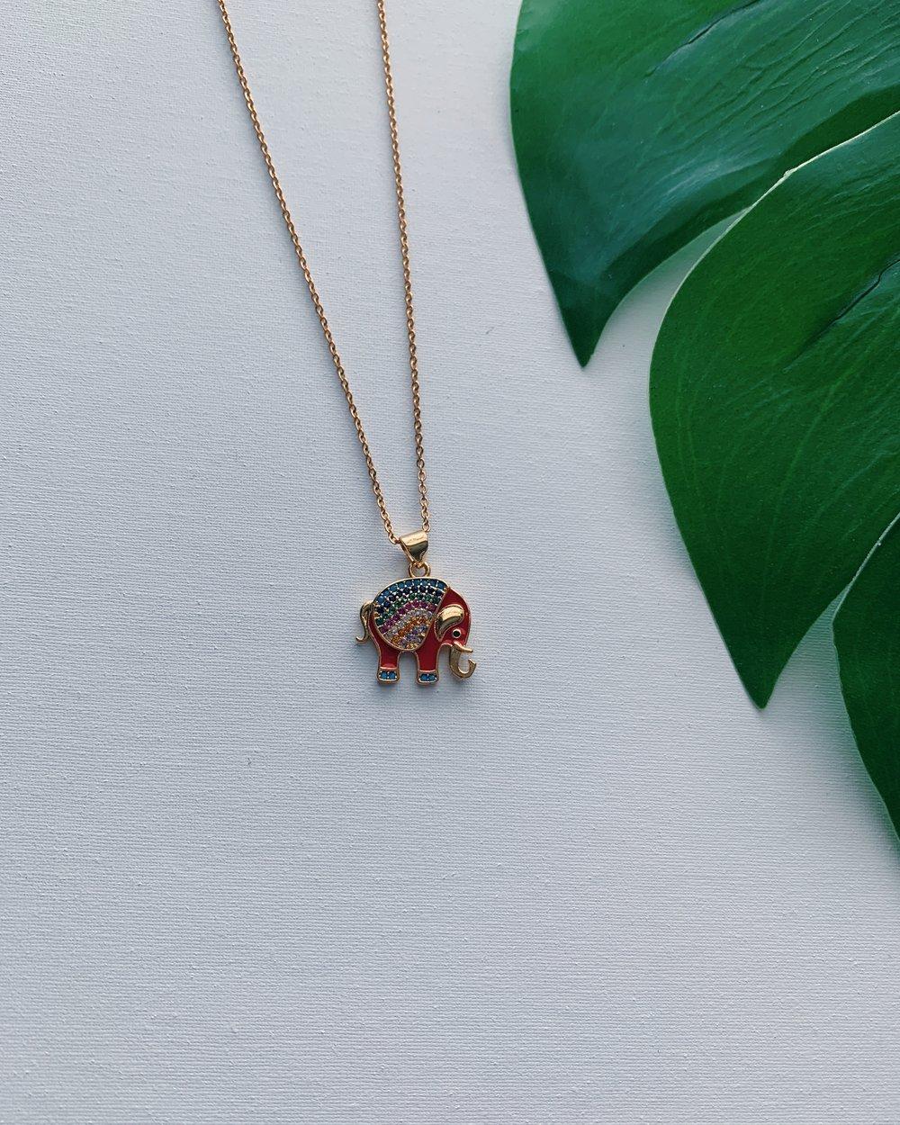 Image of HATHI • Elephant Necklace