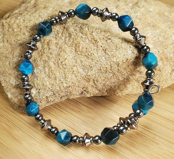 Image of Blue Tiger's Eye Bracelet
