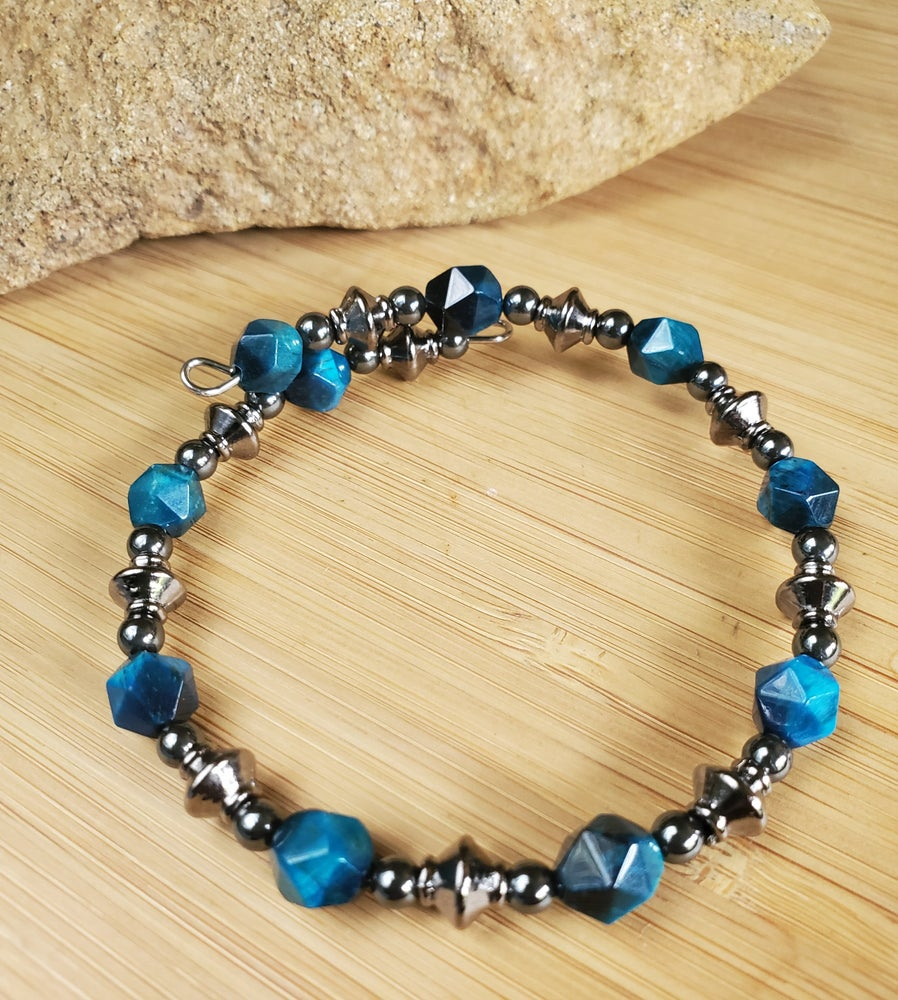 Image of Blue Tiger's Eye Bracelet