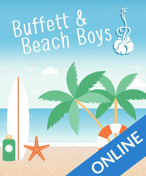 Image of Buffet & Beach Boys for Ukulele Online Class