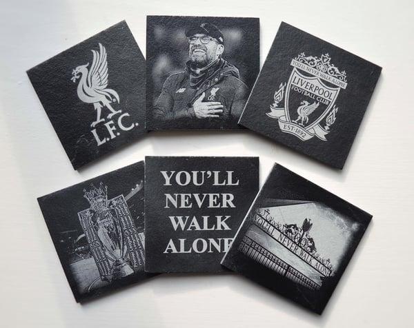 Image of Liverpool F.C. - 6 piece Coaster Set
