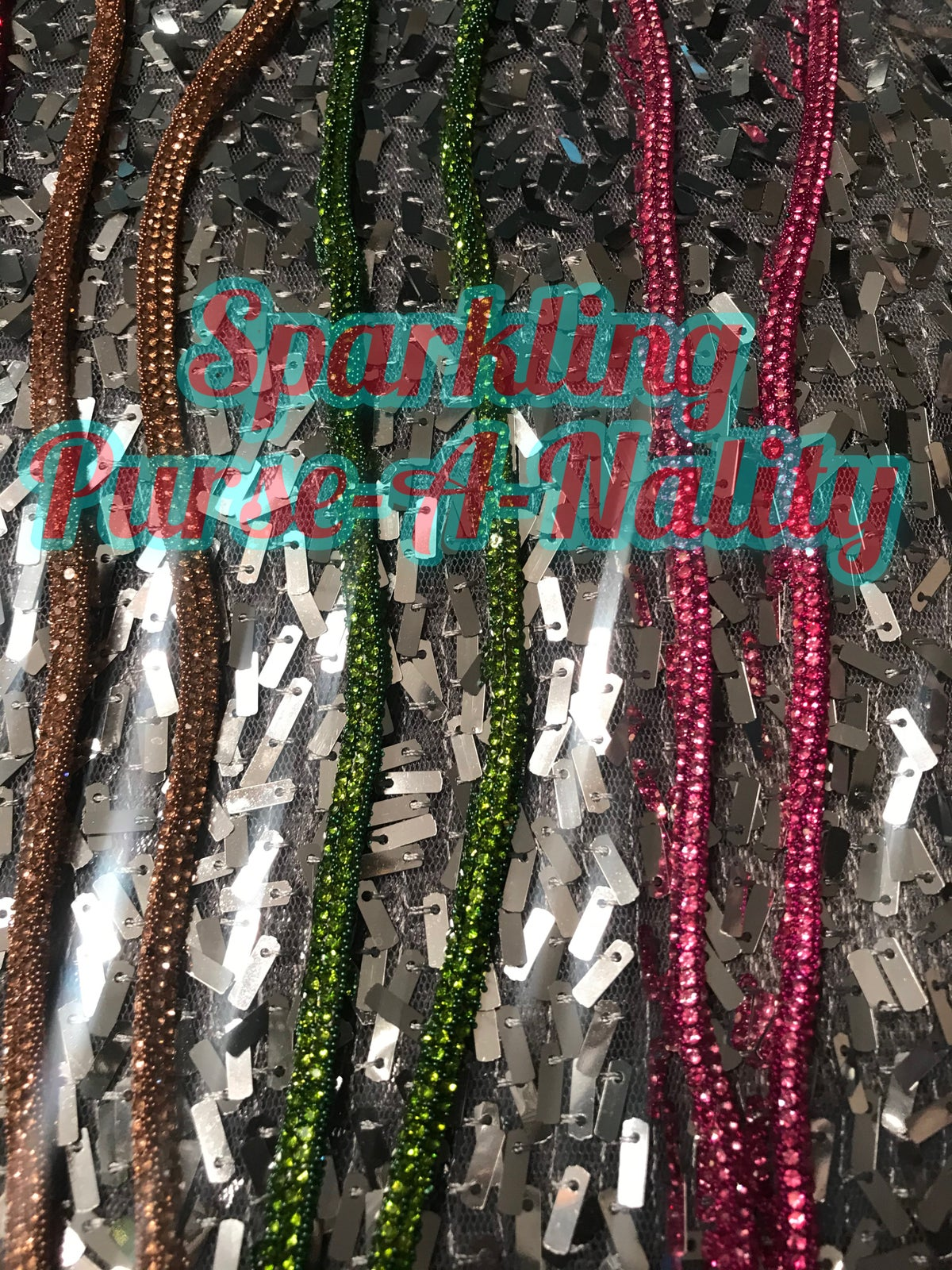 Image of Sparkling Mask Chain