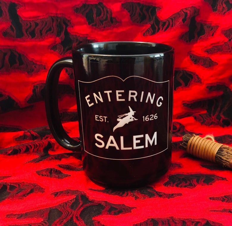 Image of Entering Salem Mug