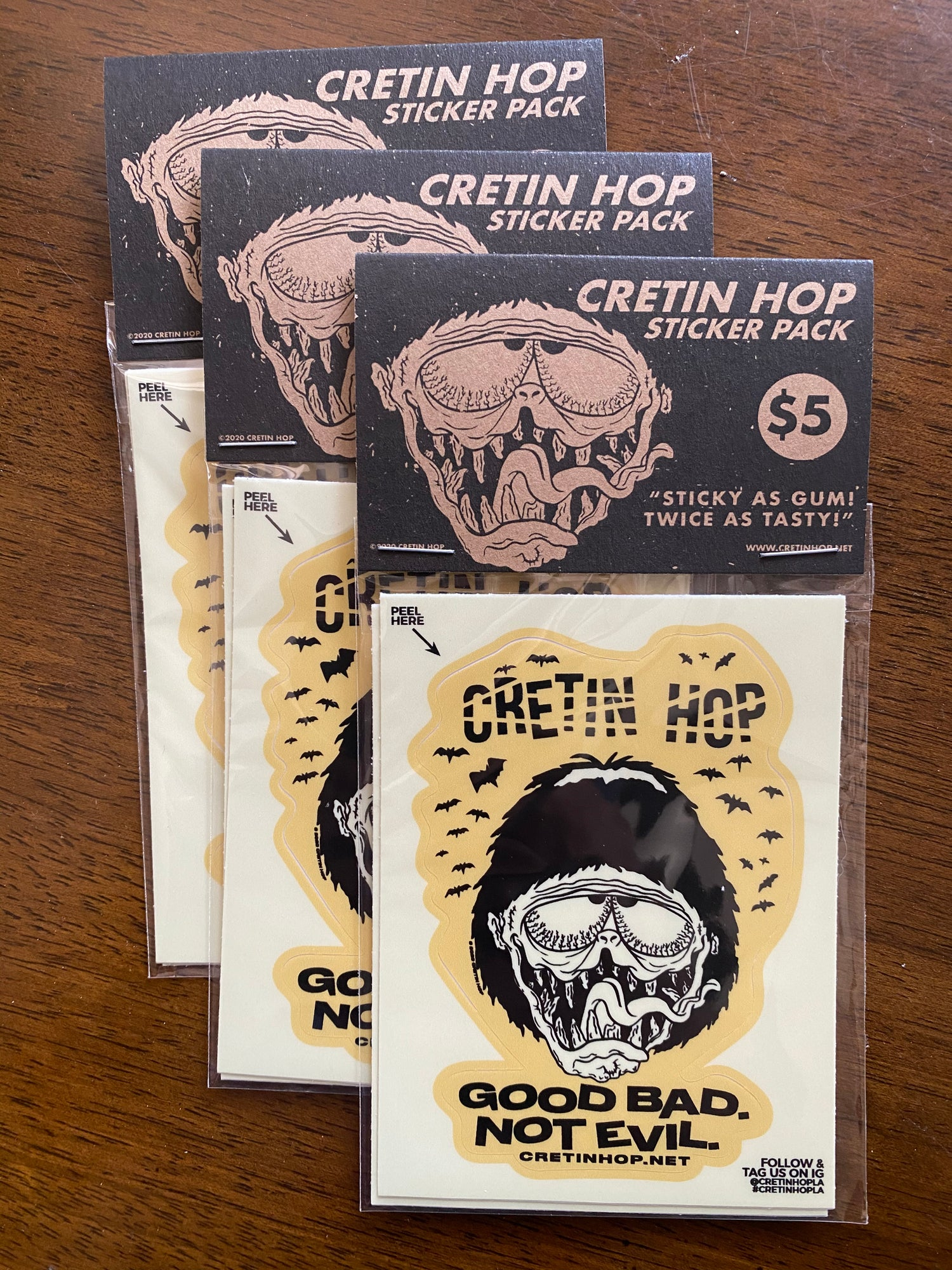 Image of Cretin Sticker Pack