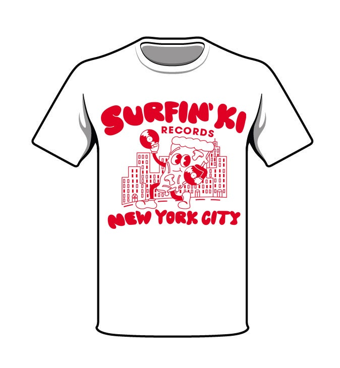 Image of SURFIN'KI RECORDS NYC TSHIRT - BLACK LIVES MATTER BENEFIT!